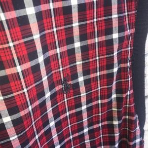 Polo by Ralph Lauren Jackets & Coats - Polo Golf Vest Plaid Pattern Red and navy  Size L